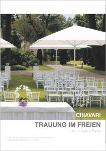 freie Trauung Chiavari Catering Hannover Deck