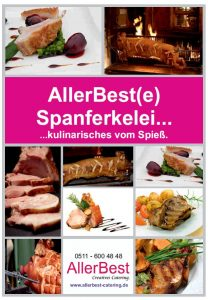 Allerbest Catering Hannover Spanferkel Katalog