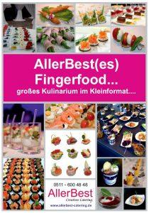 Fingerfood Katalog AllerBest Catering Hannover