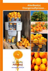 Orangensaftpresse Allerbest Catering Bild