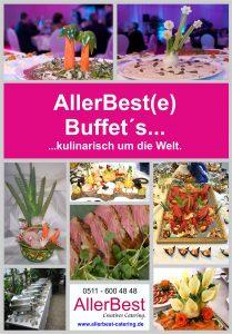AllerBest Catering Buffetauswahl Bild