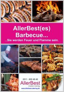 Barbecue Grillbuffet Catering Katalog Bild