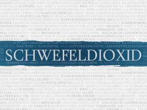 Schwefeldioxid