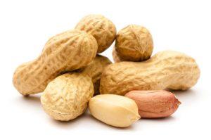 Erdnüsse freigestellt