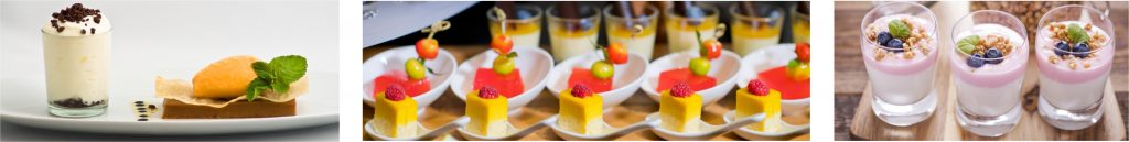 Dessert Auswahl FF Catering Hannover