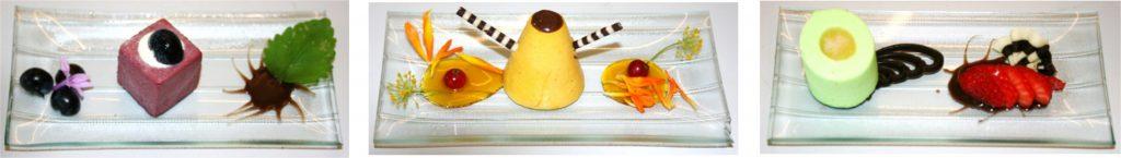 Dessert auf Glas 3er Catering