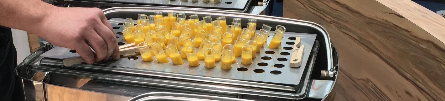 Suppe aus dem Reagenzglas Header