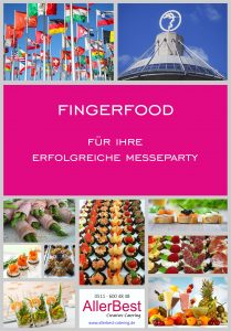 Titelblatt Fingerfood-Modul für Messepartys 2018 - Hannover Messecatering