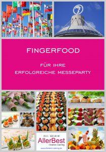 Titelblatt Fingerfood-Modul für Messepartys 2018 - Hannover Messecatering