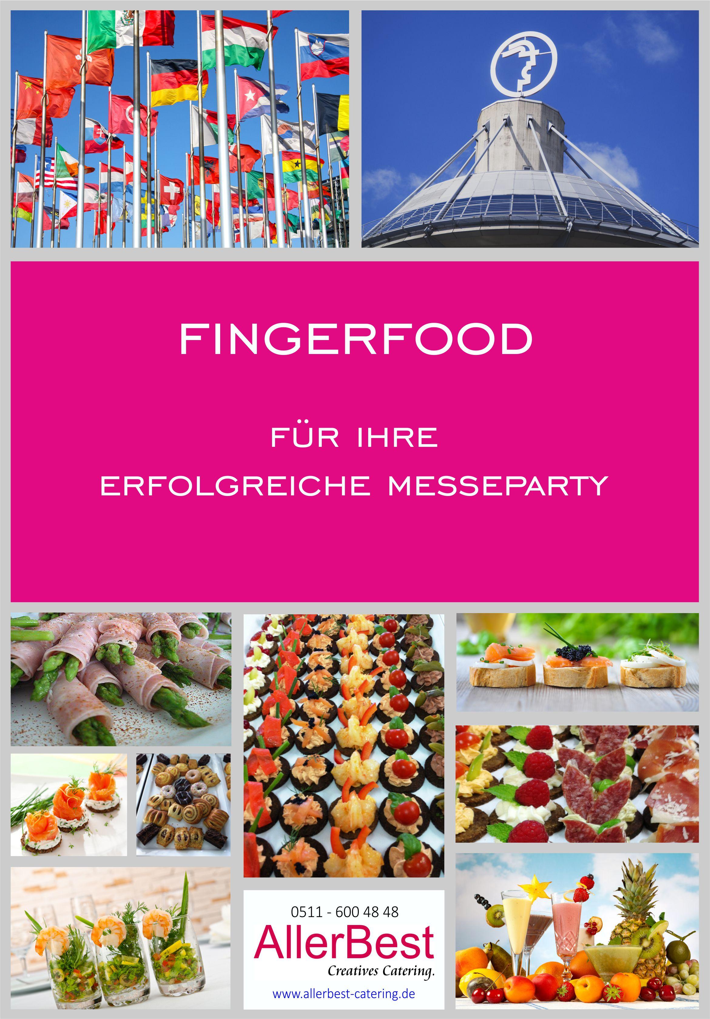 Titelblatt Fingerfood-Modul für Messepartys 2018