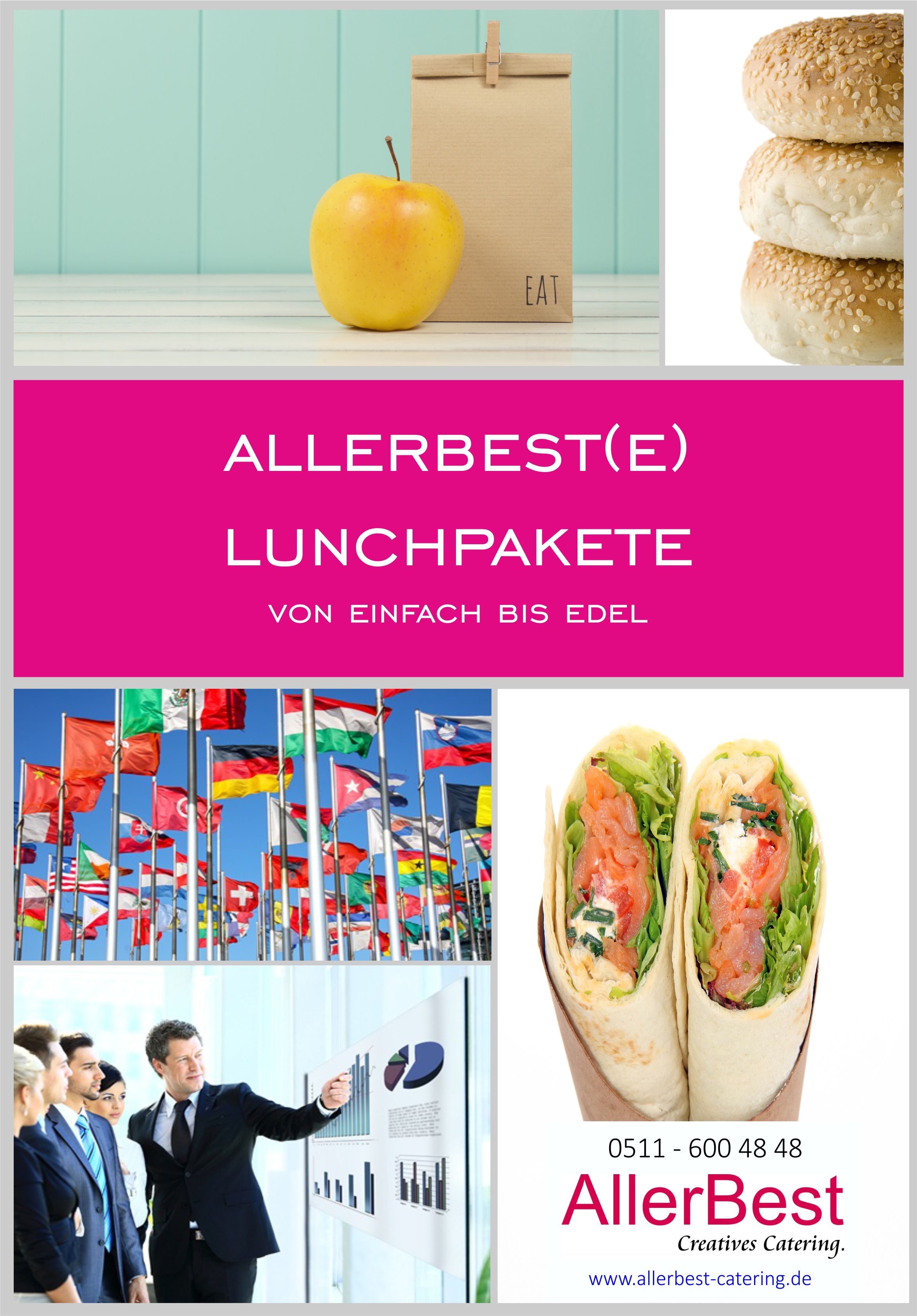 Titelblatt Lunchpakete 2018