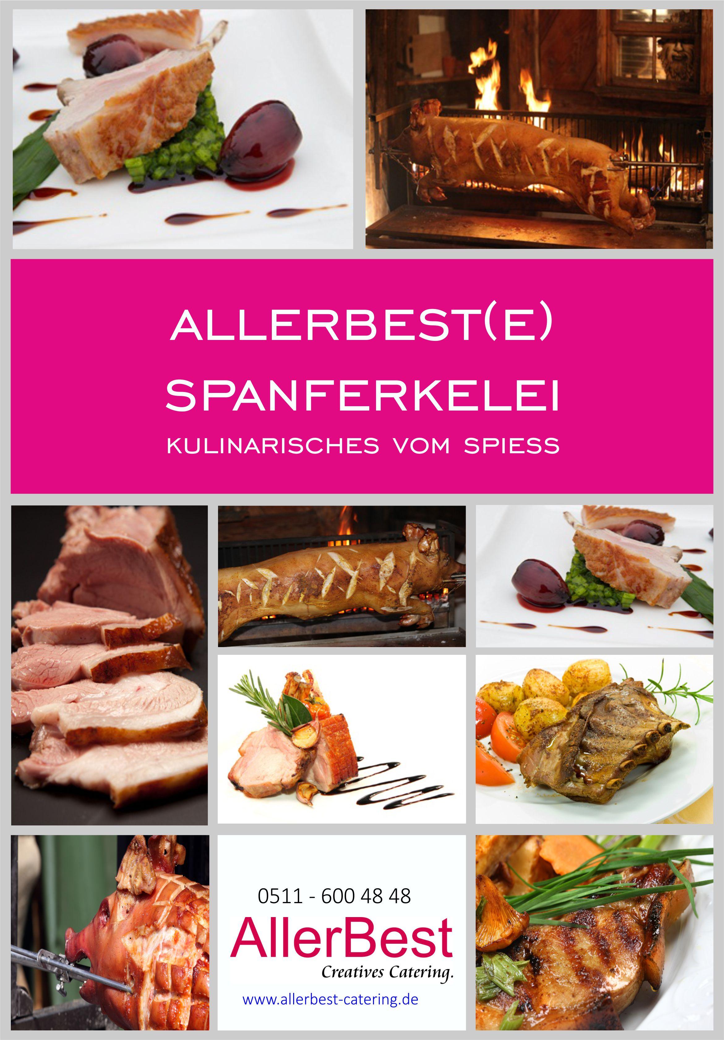 Titelblatt Spanferkelbuffet 2018