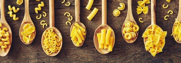 Nudelvielfalt im Catering